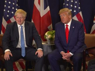 UK trade pacts Trump Brexit