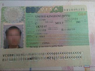 UK Visa to Chinese